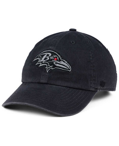 '47 Brand Baltimore Ravens Dark Charcoal CLEAN UP Cap