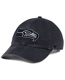 '47 Brand Seattle Seahawks Dark Charcoal CLEAN UP Cap