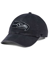 0fd1b3ce634  47 Brand Seattle Seahawks Dark Charcoal CLEAN UP Cap