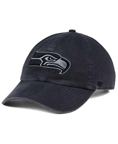 '47 Brand Seattle Seahawks Dark Charcoal CLEAN UP Cap
