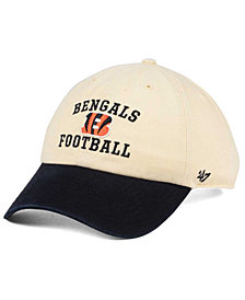 '47 Brand Cincinnati Bengals Steady Two-Tone CLEAN UP Cap