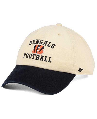 '47 Brand Cincinnati Bengals Steady Two-Tone CLEAN UP Cap