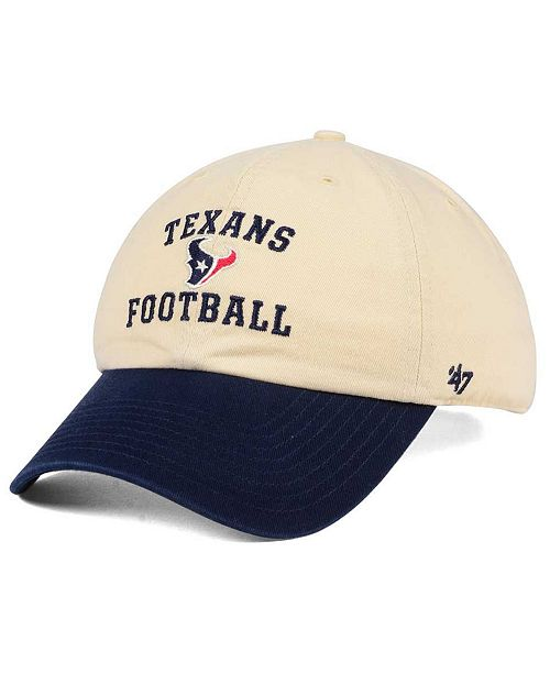 Houston Texans Steady Two-Tone CLEAN UP Cap