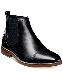 Stacy Adams Men's Alomar Cap-Toe Chelsea Boots