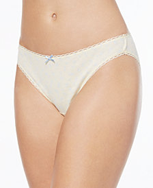 Charter Club Pretty Cotton Bikini, Created for Macy's