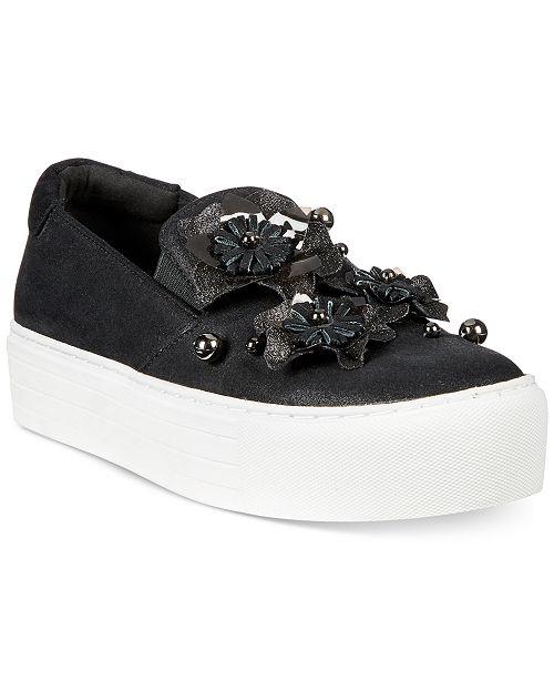 Cheer Floral Denim Platform Sneaker Kenneth Cole Reaction R8wC5ivI