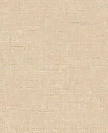 Tempaper Textured Burlap Self-Adhesive Wallpaper