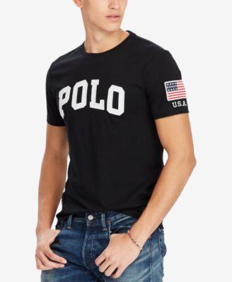 Polo Ralph Lauren Men/'s Custom Fit Graphic Logo T-Shirt