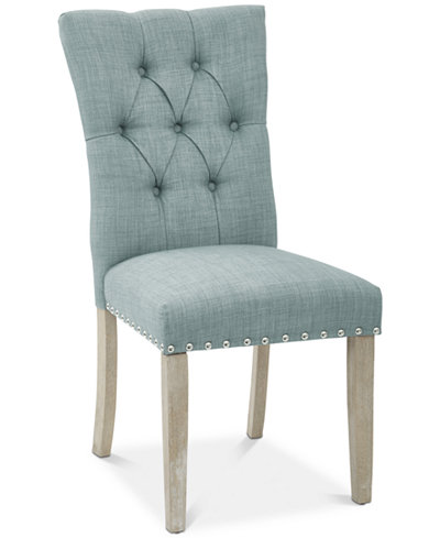 Casten Fabric Dining Chair, Quick Ship
