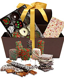 Ultimate Holiday Chocolate-Covered Gift Basket