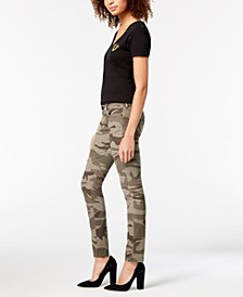 Casey Camo-Print Skinny Jeans