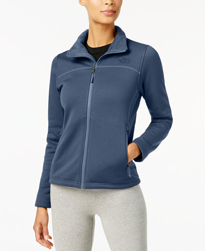The North Face Timber Fleece Jacket - Jackets - Women - Macy's