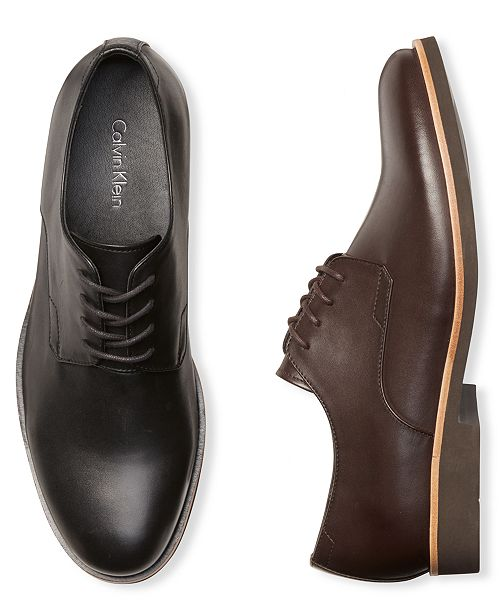 Calvin Klein Men's Faustino Lace-Up Dress Shoes