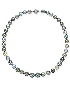 Multicolor Cultured Tahitian Pearl (9mm) Strand Necklace