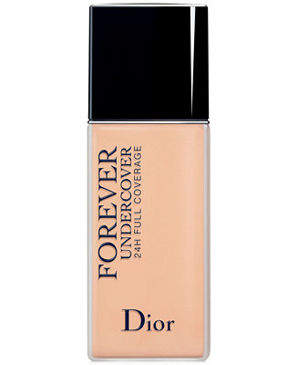 Dior Diorskin Forever Undercover 24h Full Coverage Foundation Reviews Makeup Beauty Macy S