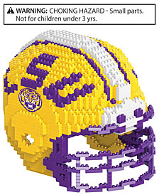 Forever Collectibles LSU Tigers BRXLZ 3D Helmet Puzzle