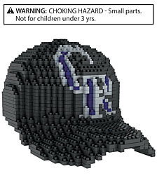 Forever Collectibles Colorado Rockies BRXLZ 3D Baseball Cap Puzzle