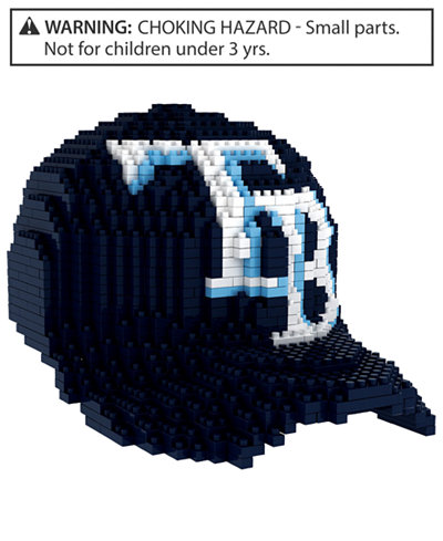 Forever Collectibles Tampa Bay Rays BRXLZ 3D Baseball Cap Puzzle