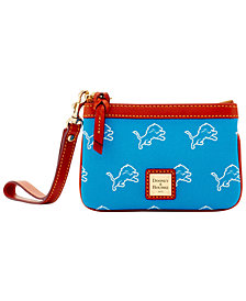 Dooney & Bourke Detroit Lions Exclusive Wristlet