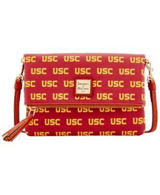 USC Trojans Foldover Crossbody Purse