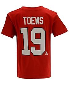 Jonathan Toews Chicago Blackhawks Player T-Shirt, Toddler Boys