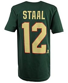 Eric Staal Minnesota Wild Player T-Shirt, Big Boys (8-20)