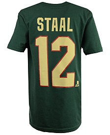 Outerstuff Eric Staal Minnesota Wild Player T-Shirt, Big Boys (8-20)