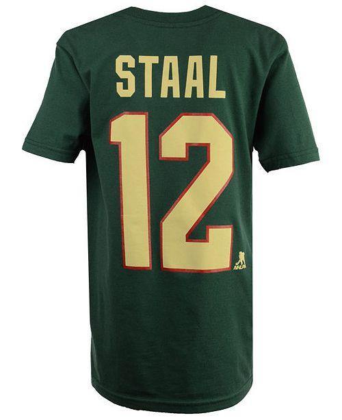 the latest de56d 22b60 Eric Staal Minnesota Wild Player T-Shirt, Big Boys (8-20)
