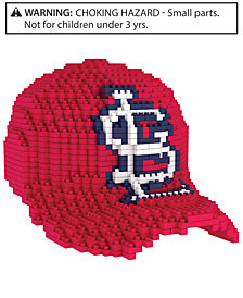 Forever Collectibles St. Louis Cardinals BRXLZ 3D Baseball Cap Puzzle