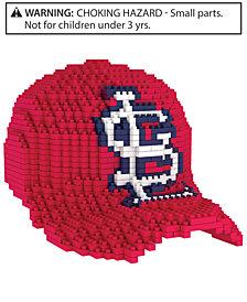 Forever Collectibles St. Louis Cardinals BRXLZ 3D Baseball Cap Puzzle