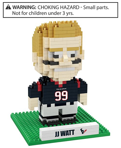 Forever Collectibles J.J. Watt Houston Texans BRXLZ 3D Player Puzzle