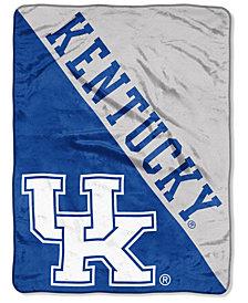 Northwest Company Kentucky Wildcats Micro Raschel Halftone Blanket