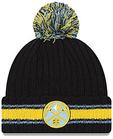 New Era Denver Nuggets Basic Chunky Pom Knit Hat