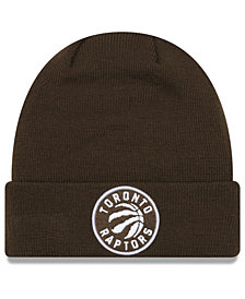 New Era Toronto Raptors Fall Time Cuff Knit Hat