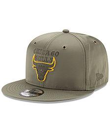 New Era Chicago Bulls Full Satin 9FIFTY Snapback Cap