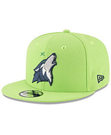 New Era Minnesota Timberwolves Team Metallic 9FIFTY Snapback Cap