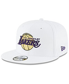 New Era Los Angeles Lakers Team Metallic 9FIFTY Snapback Cap