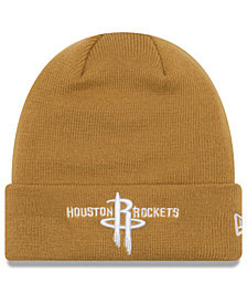 New Era Houston Rockets Fall Time Cuff Knit Hat