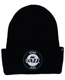 '47 Brand Utah Jazz Ice Block Cuff Knit Hat