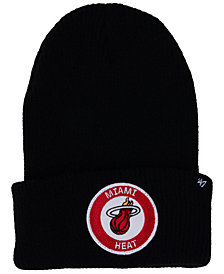'47 Brand Miami Heat Ice Block Cuff Knit Hat