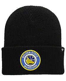 '47 Brand Golden State Warriors Ice Block Cuff Knit Hat