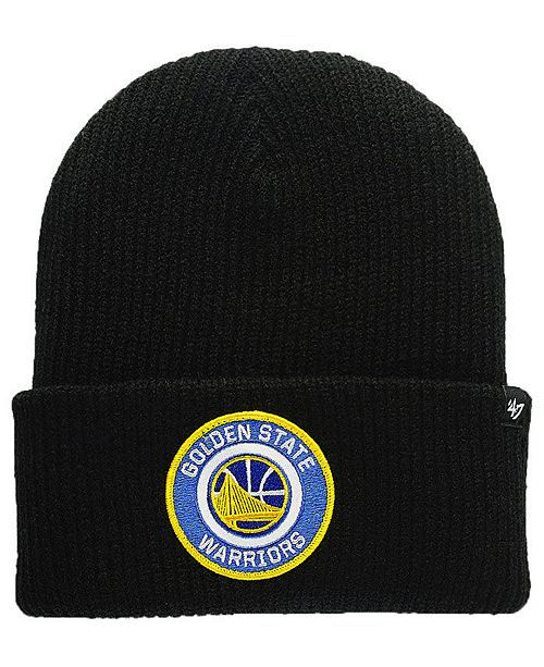 23e124dd5b9bc 47 Brand Golden State Warriors Ice Block Cuff Knit Hat   Reviews ...