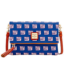 Dooney & Bourke New York Giants Foldover Crossbody Purse