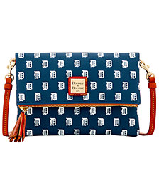 Dooney & Bourke Detroit Tigers Foldover Crossbody Purse