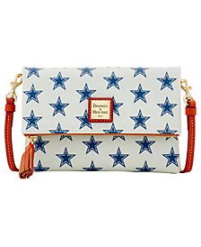 Dooney & Bourke Dallas Cowboys Foldover Crossbody Purse