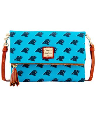 Carolina Panthers Foldover Crossbody Purse