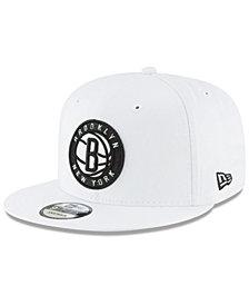 New Era Brooklyn Nets Team Metallic 9FIFTY Snapback Cap