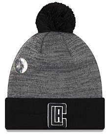 New Era Los Angeles Clippers Pin Pom Knit Hat