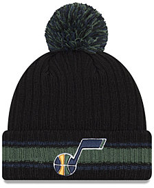 New Era Utah Jazz Basic Chunky Pom Knit Hat