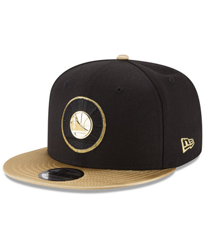 best loved f1083 34e52 Golden State Warriors Triple Gold 9FIFTY Snapback Cap